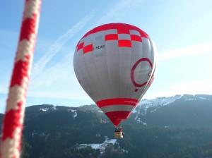 vol en montgolfiere