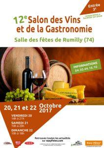 Salon vin et gastronomie Rumilly